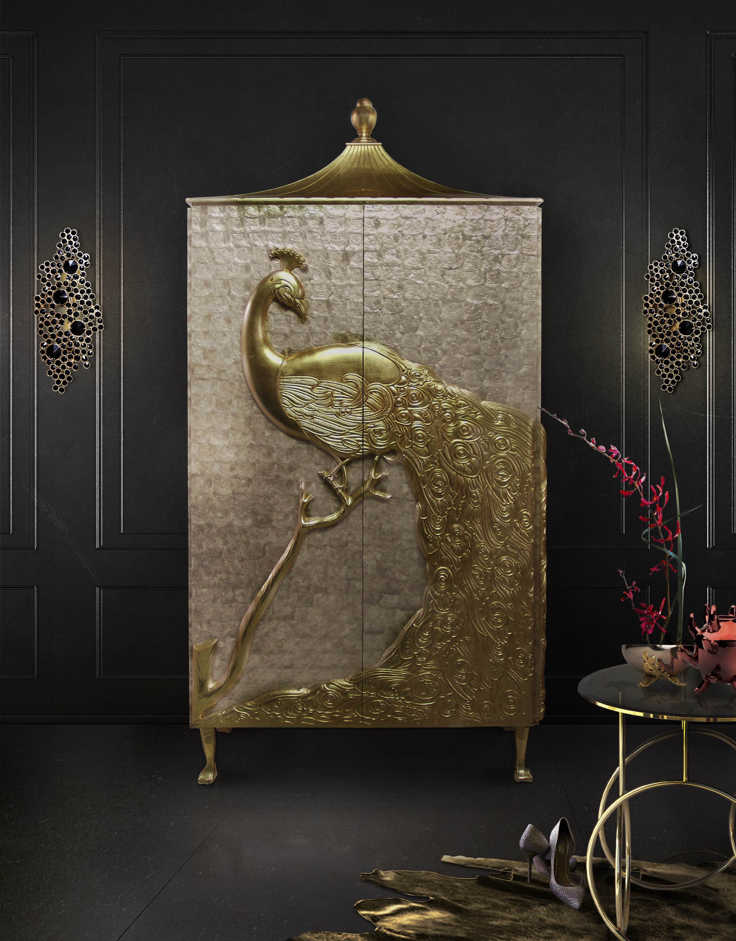 camilia-armoire-kiki-side-table-eternity-sconce-koket-projects.jpg