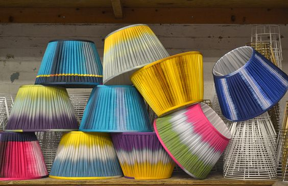 Ptolemy Mann's contemporary Ikat collaboration with Copper & Silk
