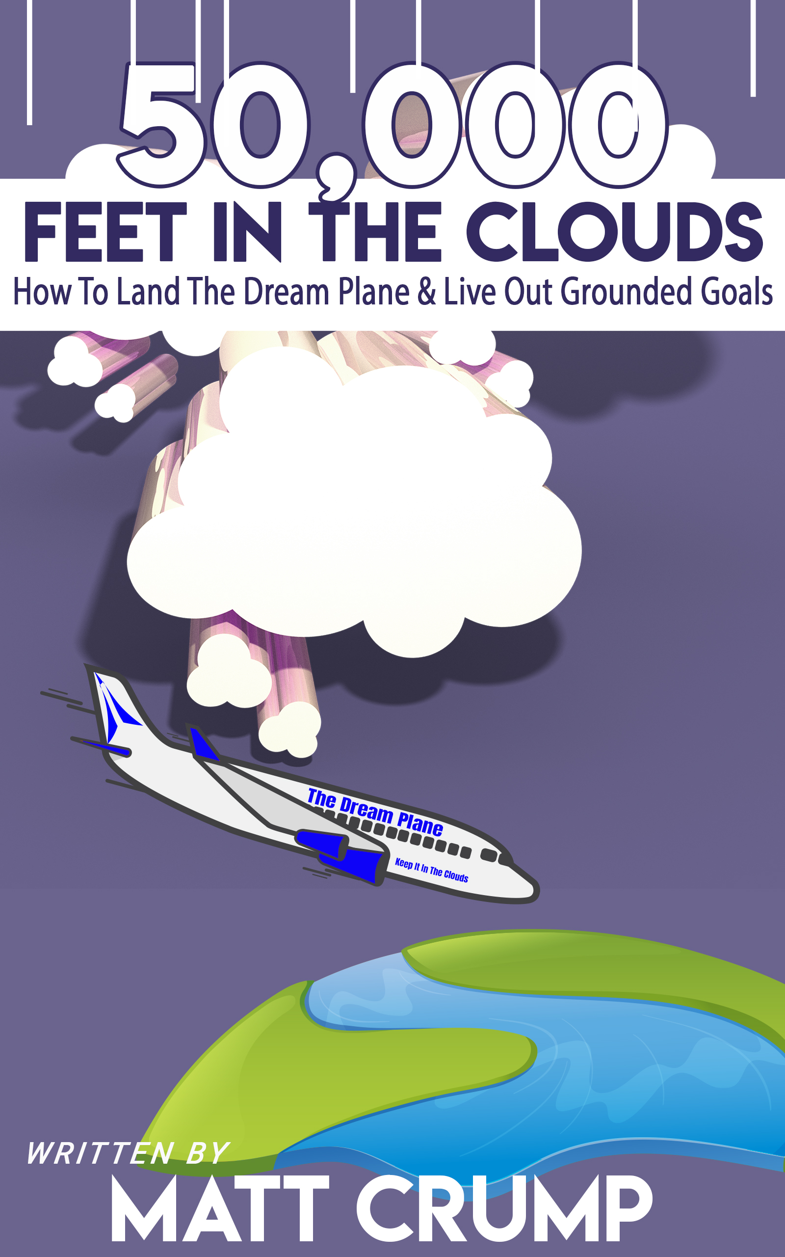 Tired of having your dreams in the clouds? - Get your FREE book written by Matt Crump to help you discover ways to Land The Dream Plane & Live Out Grounded Goals