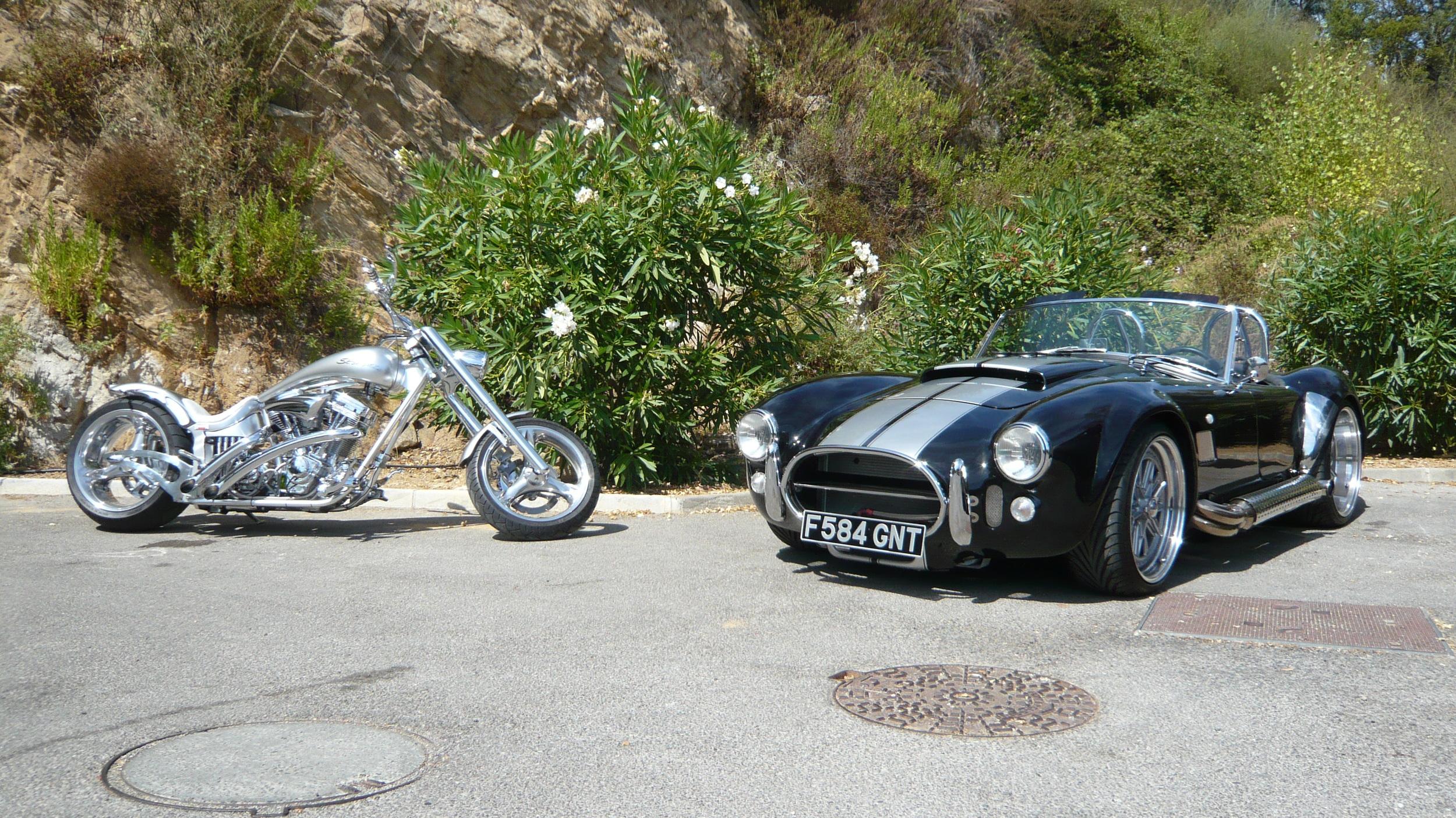 AC Cobra and Custom Bike
