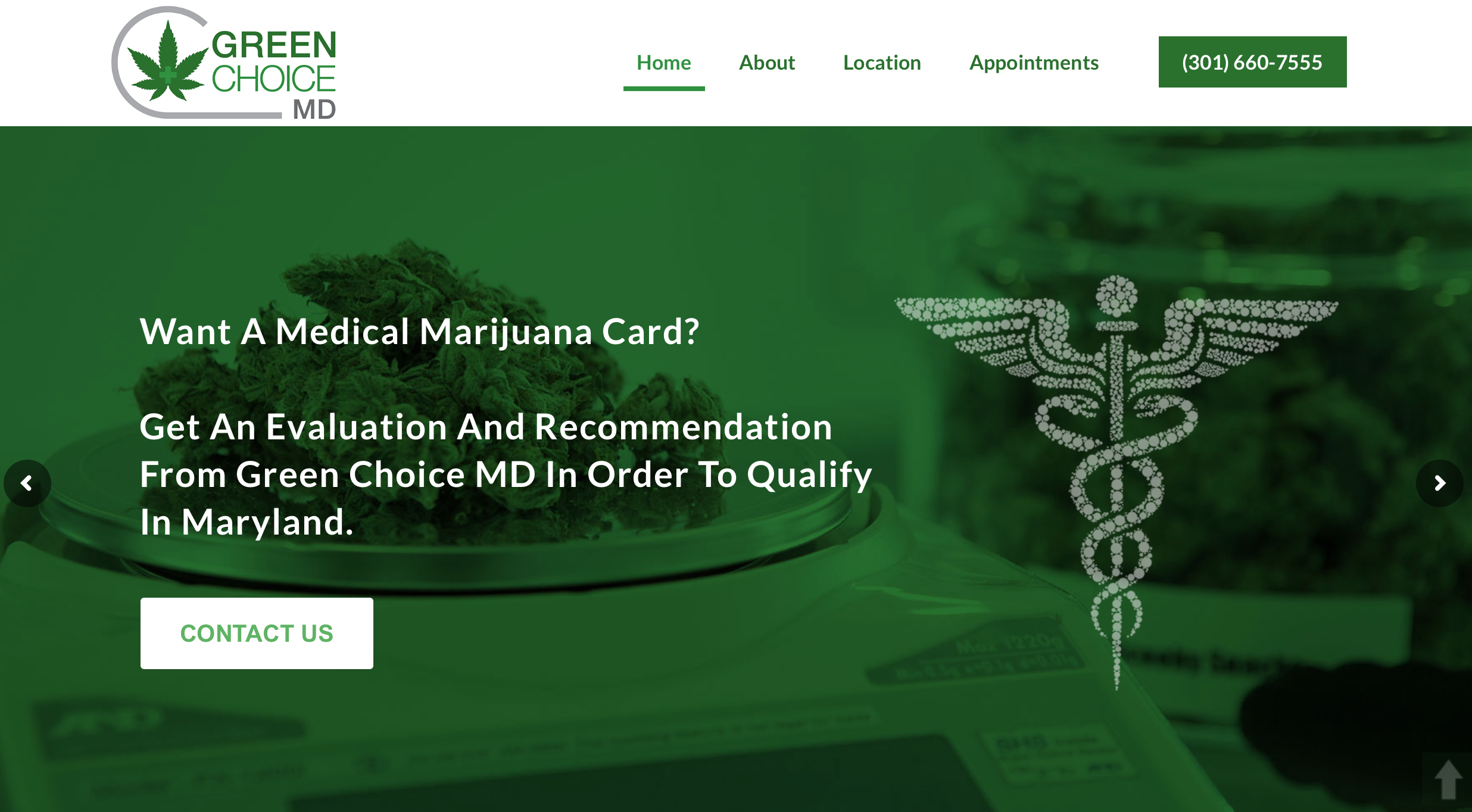 Green Choice MD Home Page