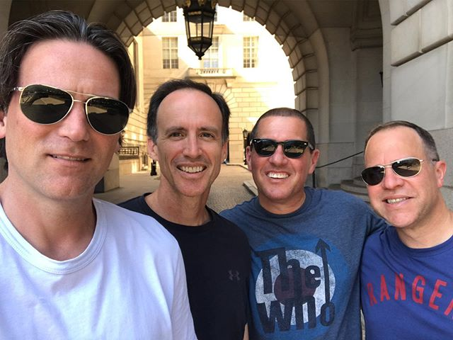 Celebrating our 50th trip around the sun with the boys. #FriendsFor35Years #ReunionWeekend