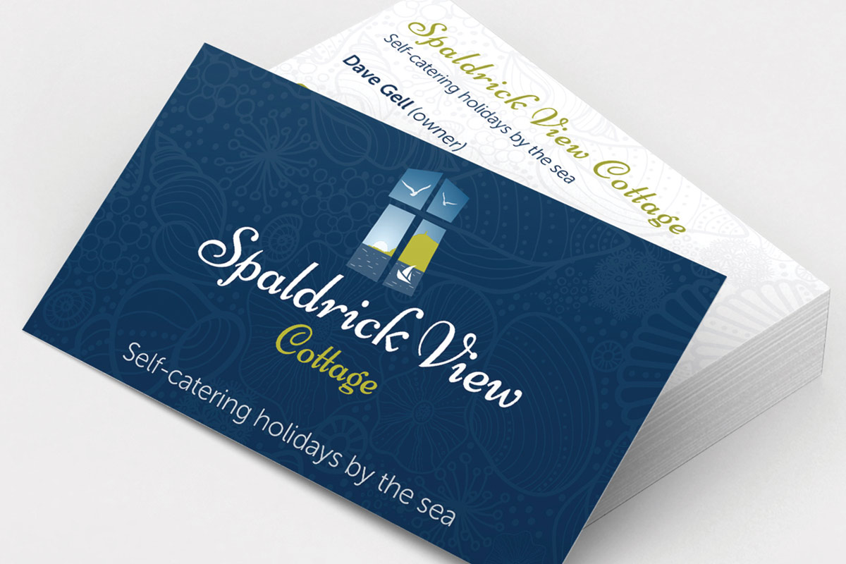Spaldrick View Cottage brand identity, website design and marketing collateral