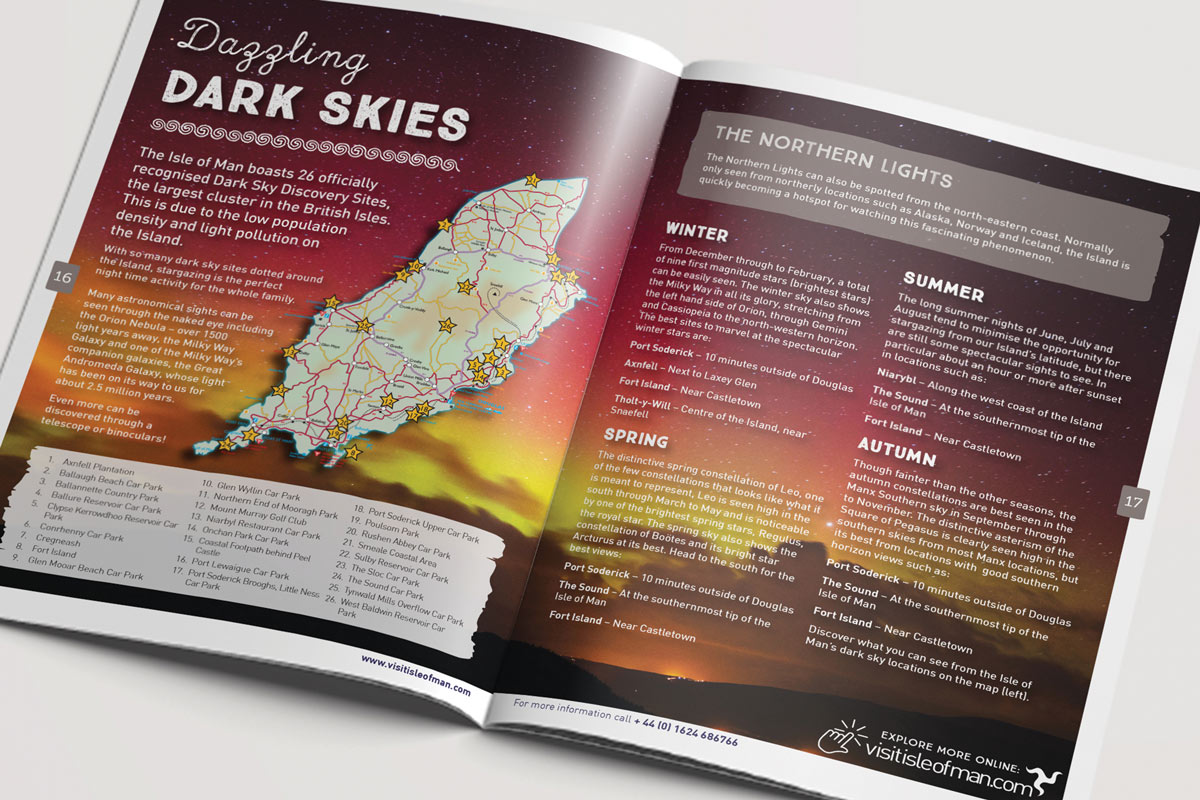 Isle of Man One Stop Guide design