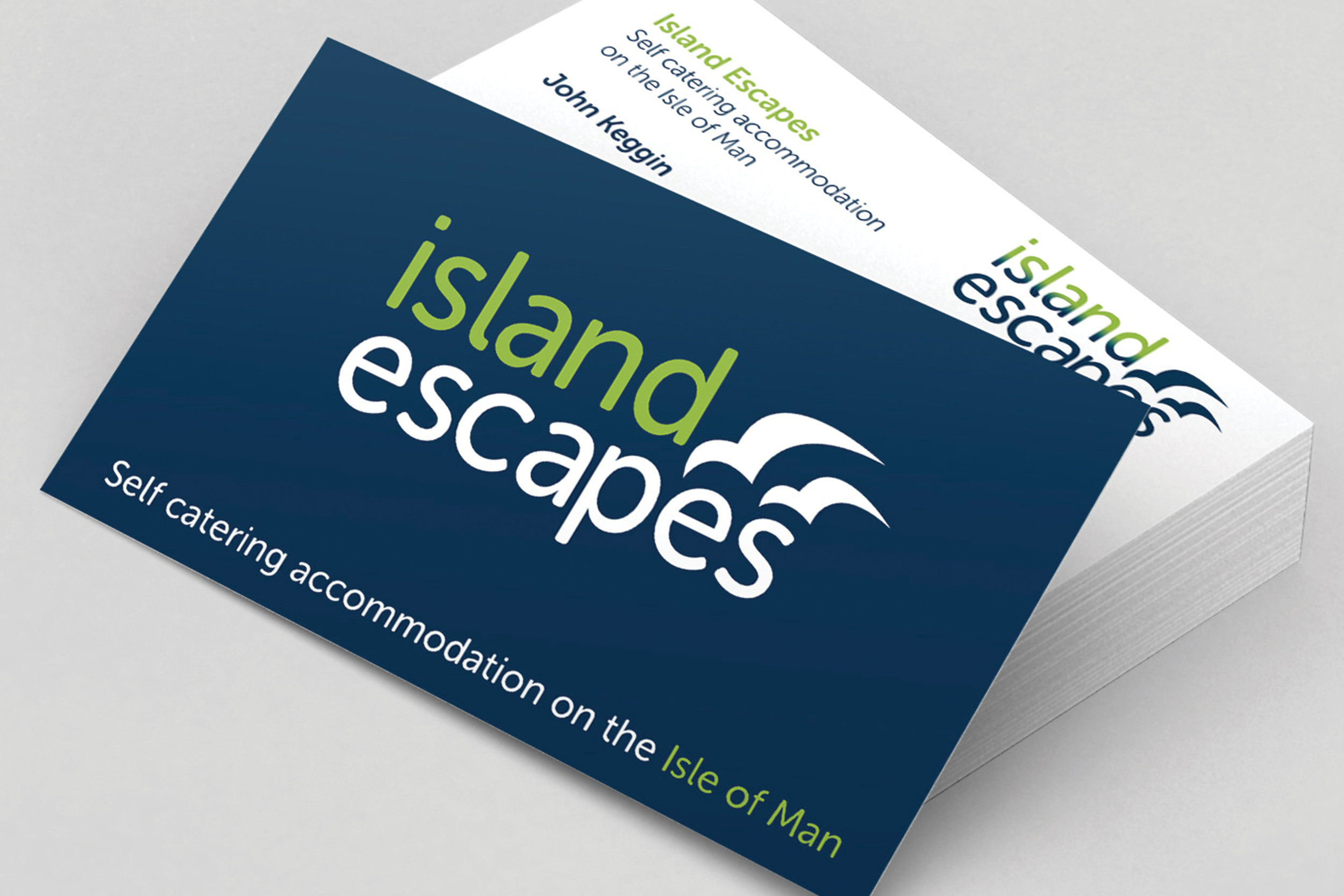 Island Escapes brand identity and marketing collateral