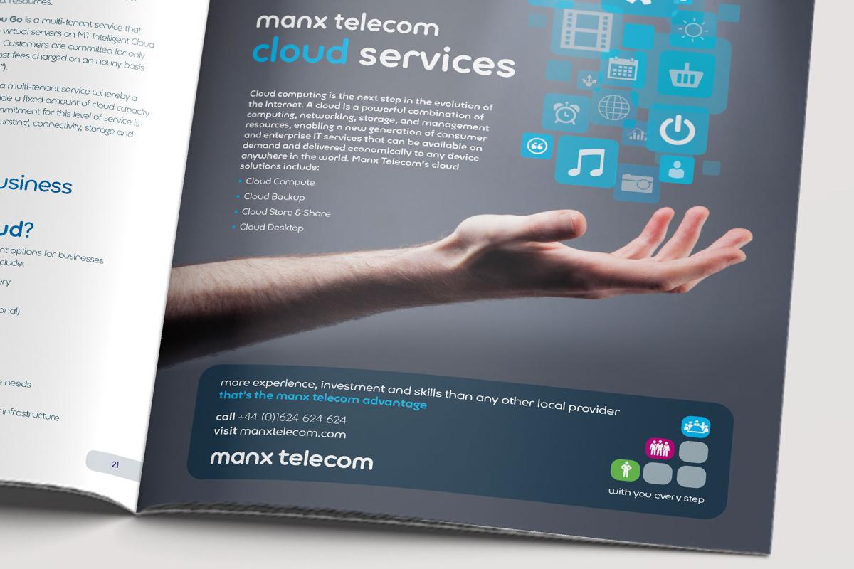Manx Telecom B2B advertising campaign