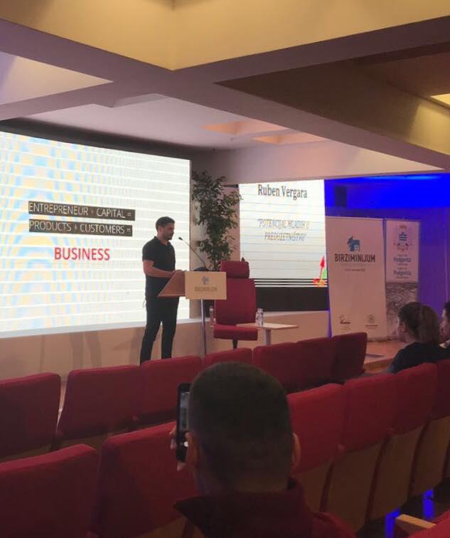The Potential of youth in Entrepreneurship - Speaker at Birziminijum, 13 November 2017