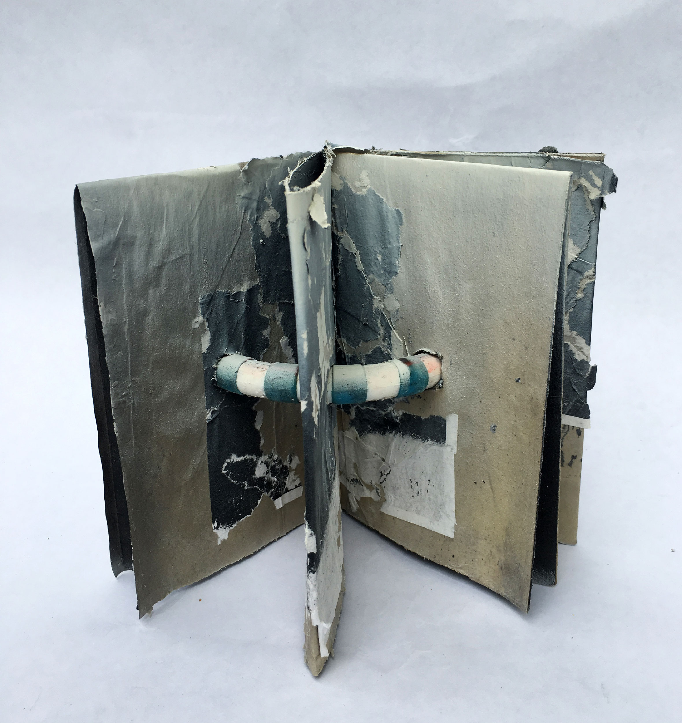 Folded Book with Threaded Handle