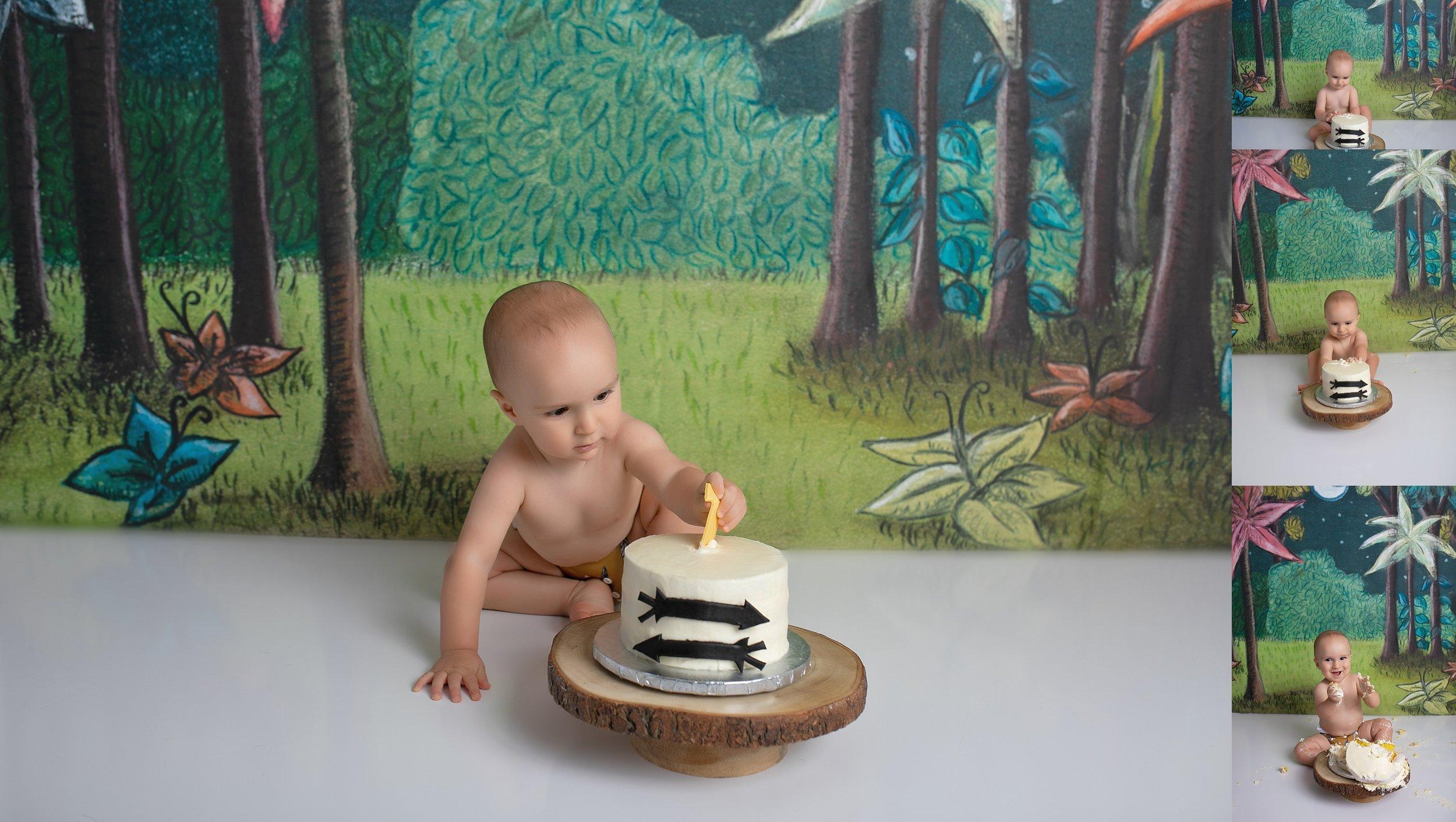 Smash that cake!
