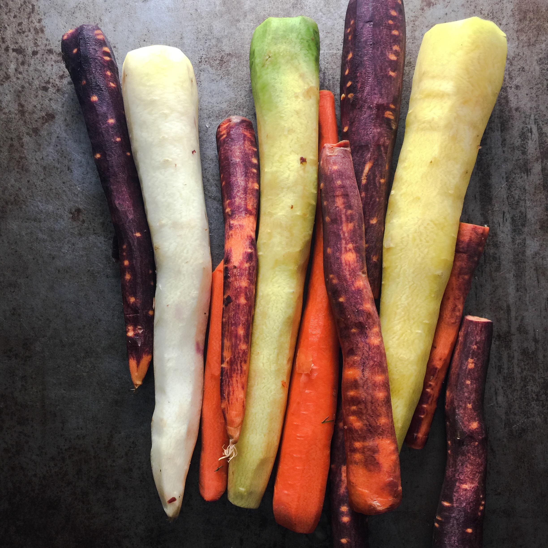 Ras el Hanout Rainbow Carrots