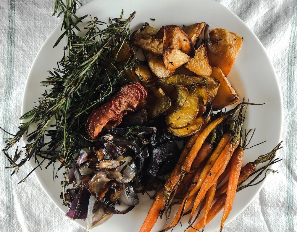 roasted winter vegetable