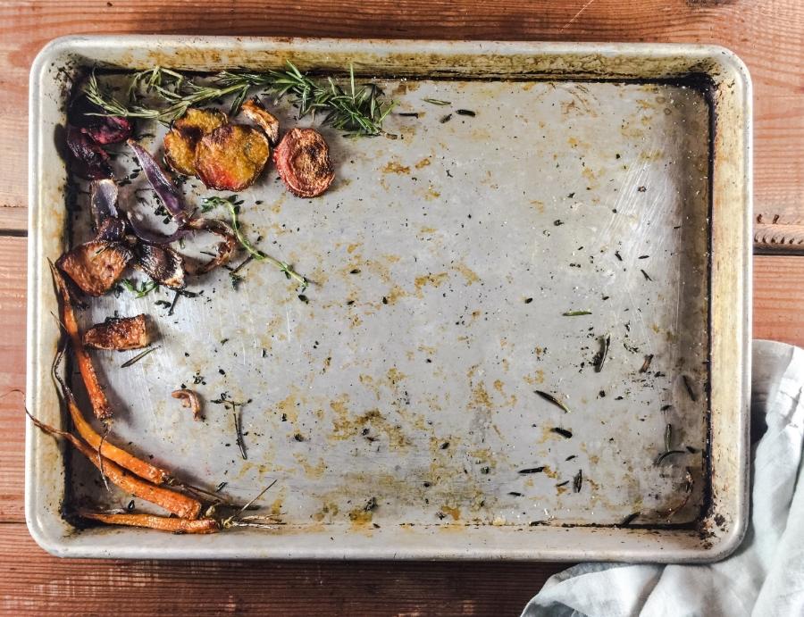 winter roasted vegetable