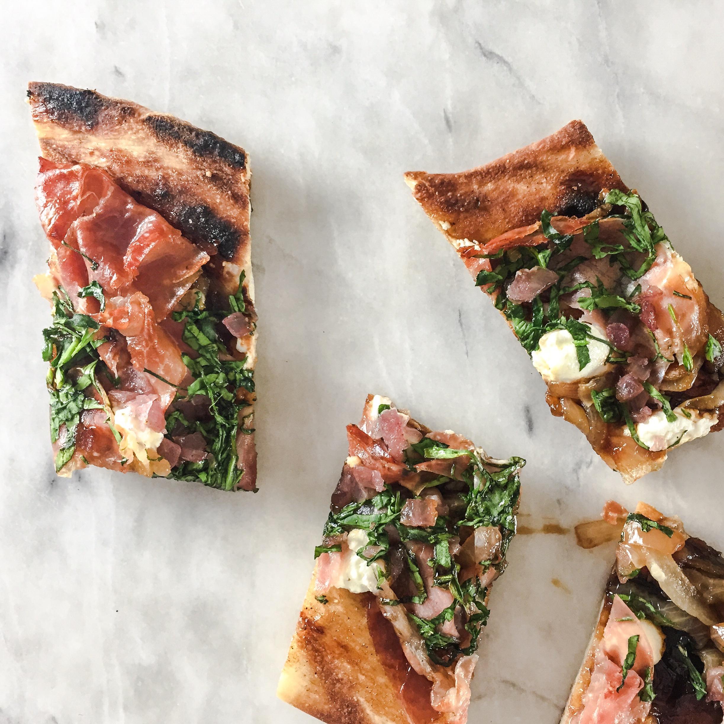 Sid Wainer Fig Puree Pizza