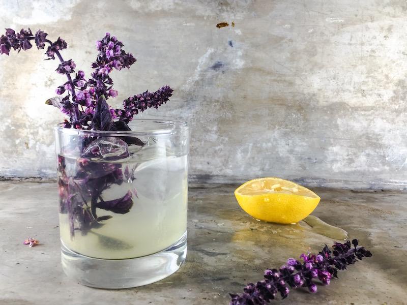 Sid Wainer Vodka Lemon Flowring African Basil