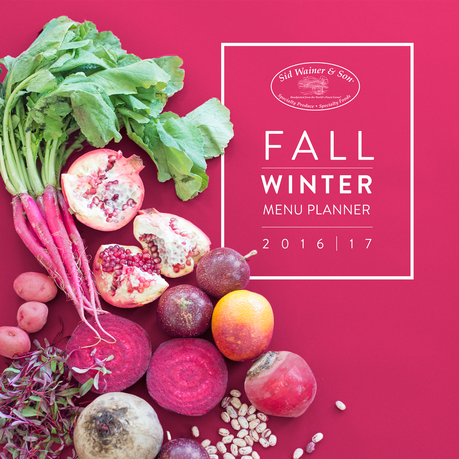 Fall Winter Produce Planner