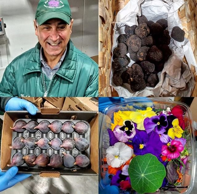 #VicsPicks 2nd edition of the day. 1st of season Summer Truffles, Black Mission Figs, Mixed Blossoms, oh my!  So Fresh, check out the deets below⬇️ . . . ➡️1st of season  Black Summer Truffles # 107600 Imported from Umbria, Italy Rich woodsy aroma with flavors of garlic 😎#EverydayImTrufflin ➡️1st of season Arizona Black Mission Figs # 2250 A Black Mission Fig tree🌳 can grow up to 30ft tall, wow. Create a delicious Black Mission Fig Burrata Bruschetta👩🍳 ➡️Local Edible Mixed Blossoms🌺 # 48100 Handpicked, hand-placed, hand-packed  Grown locally in Massachusetts on a family farm #BarService garnish an Old Fashioned with these blossoms 