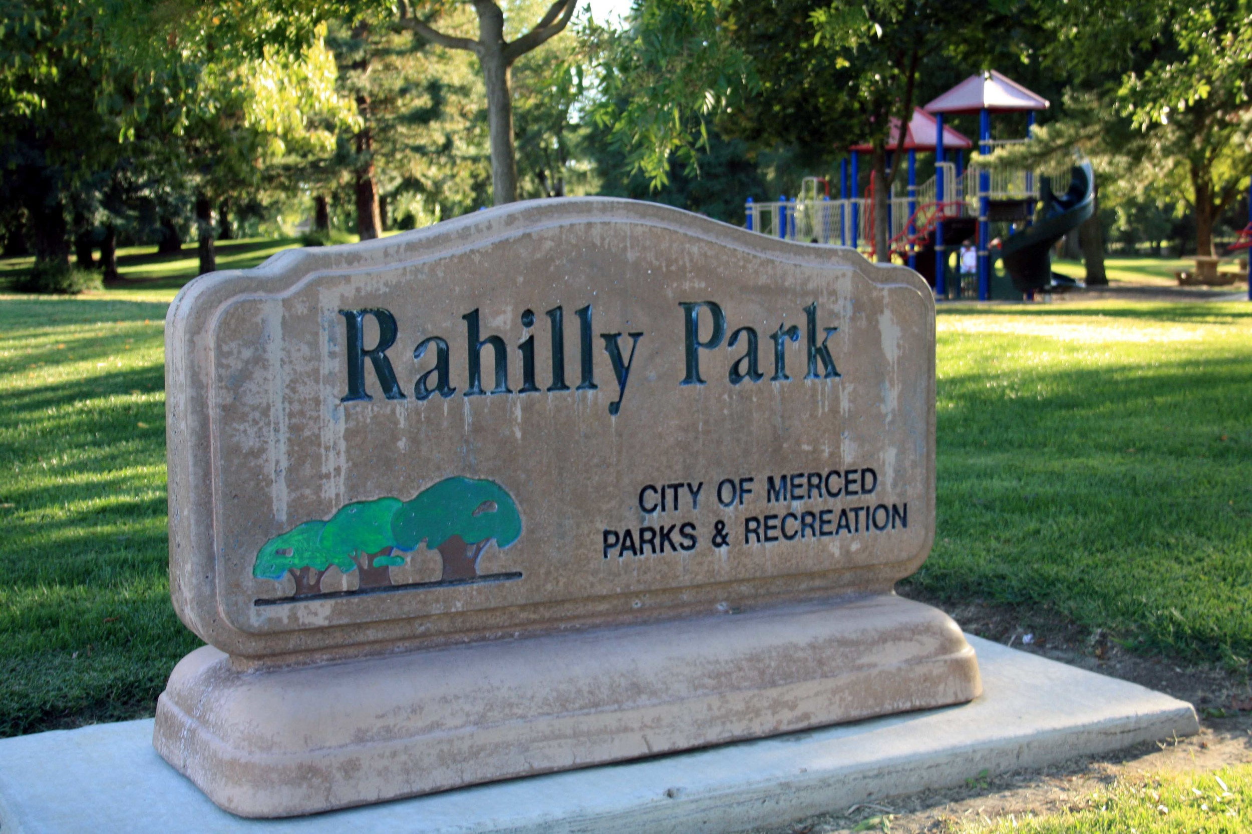 Rahilly Park -  PHOTO BY ADAM BLAUERT
