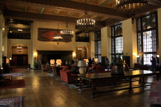 Winter Ahwahnee Hotel - Photo by Adam Blauert