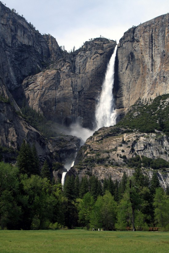 Spring Yosemite Falls - Photo by Adam Blauert