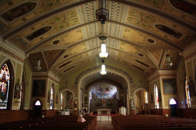St. John's Interior - PHOTO BY ADAM BLAUERT