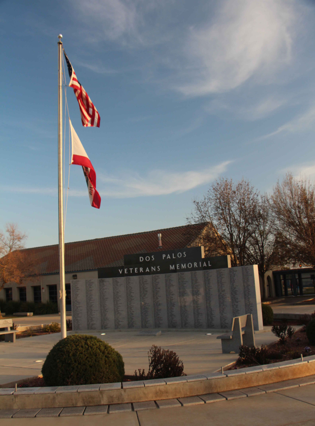 Veterans Memorial -  PHOTO BY ADAM BLAUERT