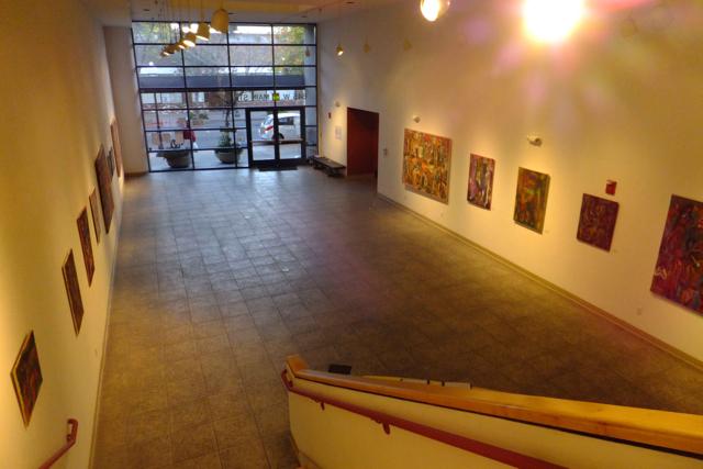 Ground floor gallery - PHOTO BY ADAM BLAUERT