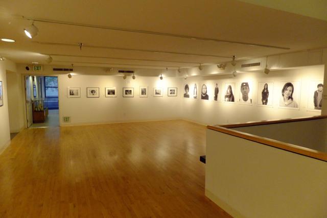 Second floor gallery -  PHOTO BY ADAM BLAUERT