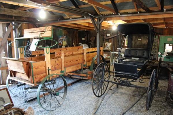 Wagon and Buggy - PHOTO BY ADAM BLAUERT