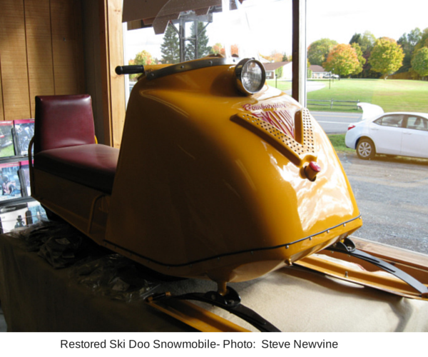 Restored Ski Doo Snowmobile- Photo- (1)