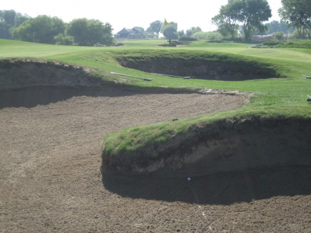 Sand Trap at Stevinson Ranch Golf Club.  Photo by Steve Newvine