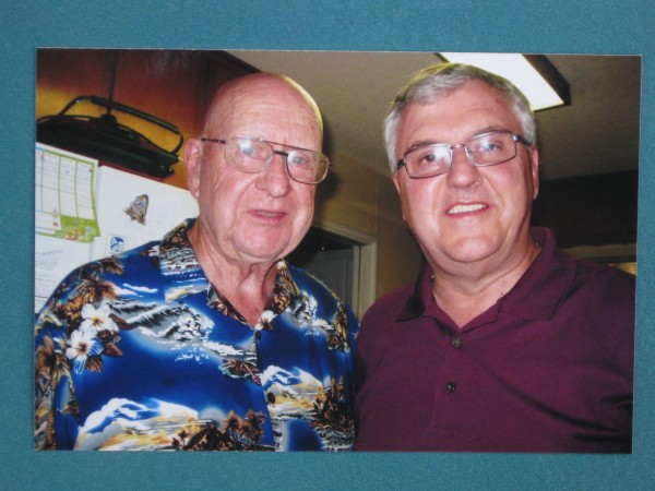 Steve Newvine and Jim North, Photo from Newvine Personal Collection