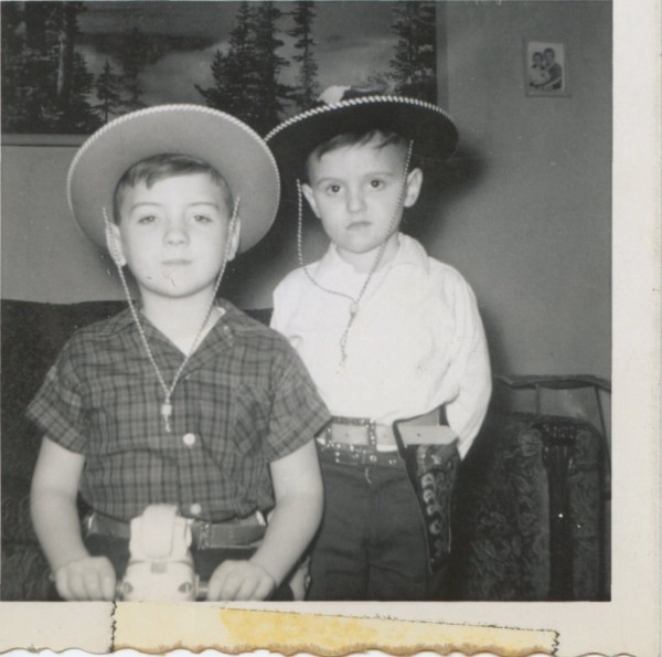 Happy Trails, Terry & Steve Newvine, Photo: Newvine Family Collection