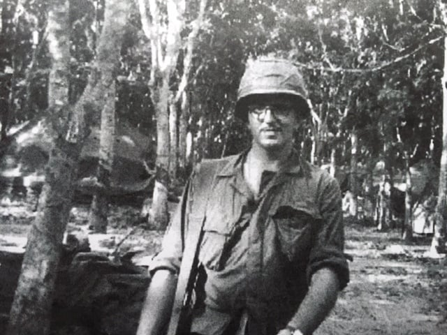 Bill Newvine in Vietnam, 1967. From the Newvine Family Collection