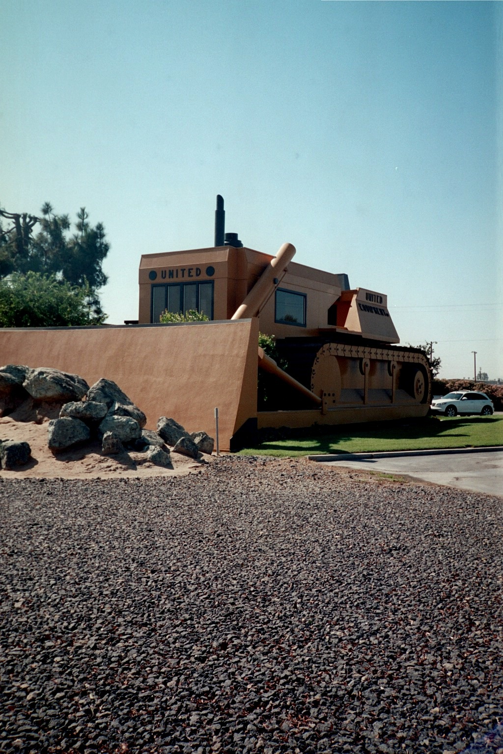 The office for United Equipment in Turlock. Photo: Steve Newvine)