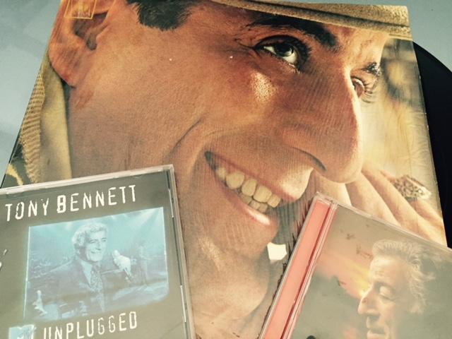 Tony Bennett's enduring music catalog. Photo by Steve Newvine