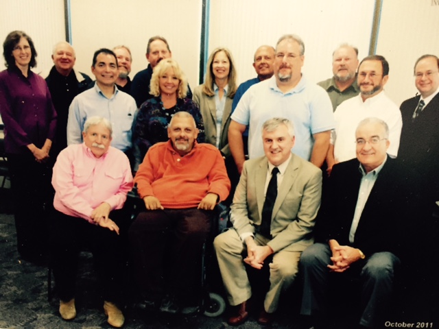 A 2011 picture of the Merced Workforce Investment Board.