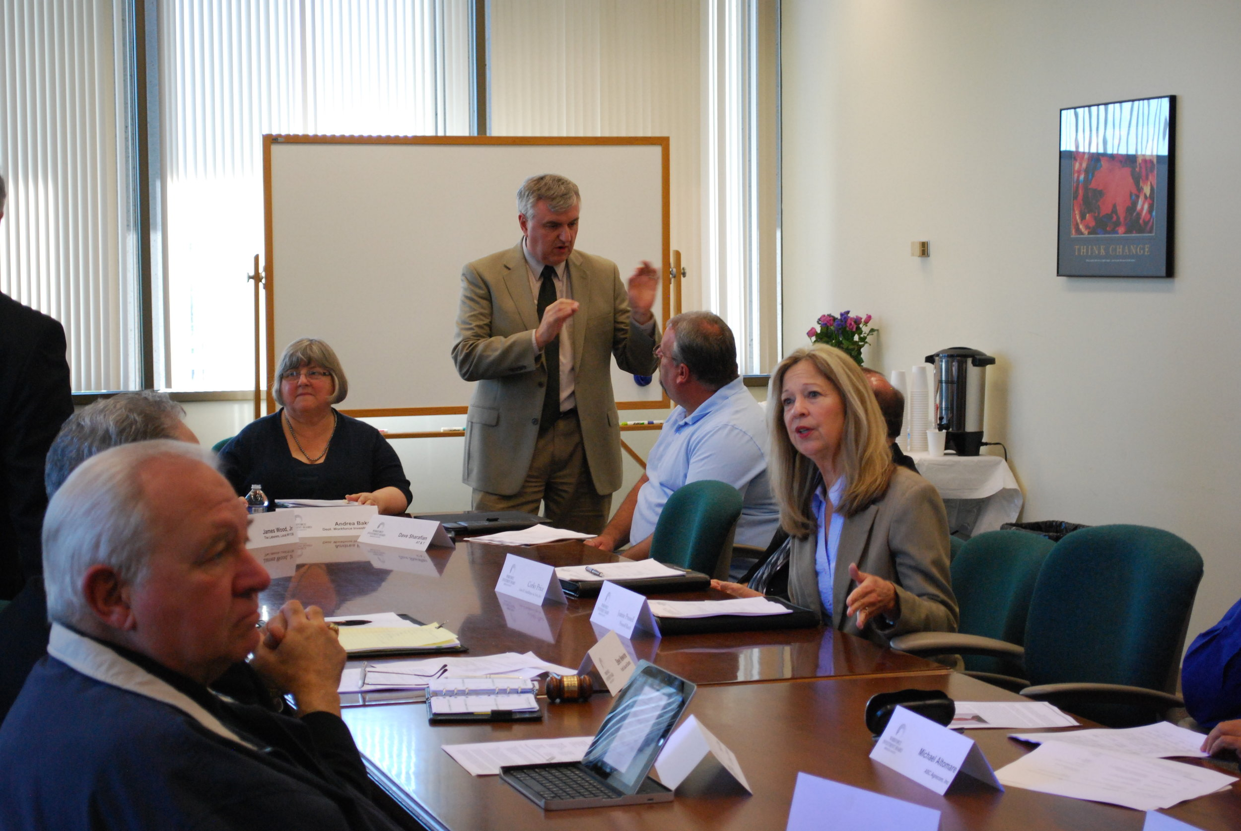 Steve Newvine served as chair of the Merced WIB from 2011-2013. Photo from Merced WIB.