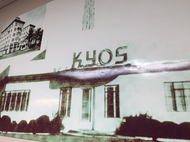 An early broadcast home to KYOS.  Picture from KYOS