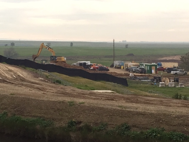 The pastoral landscape off Lake Road will continue to change as the 20/20 project moves along. Photo by Steve Newvine