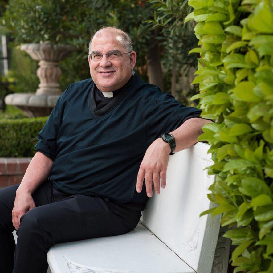 Father Bert Mello. Photo from Our Lady of Perpetual Help Church in Bakersfield