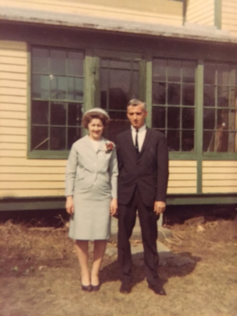 My parents, Ed and Bea Newvine in a photo likely taken in 1968. Photo: Newvine Family Collection