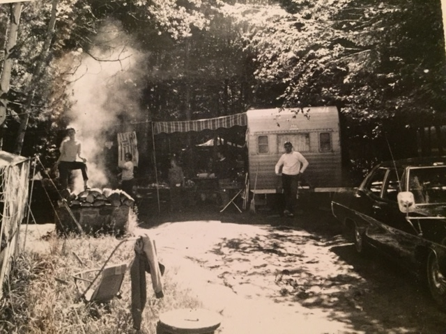 The Newvine family camper provided a lot of fun during a tumultuous 1968. Photo: Newvine Family Collection