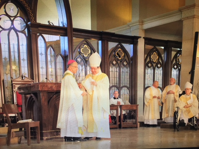 Bishop Myron Cotta was installed as Bishop of the Diocese of Stockton at a ceremony held at   -- Chruch in Modesto. Photo; Diocese of Stockton