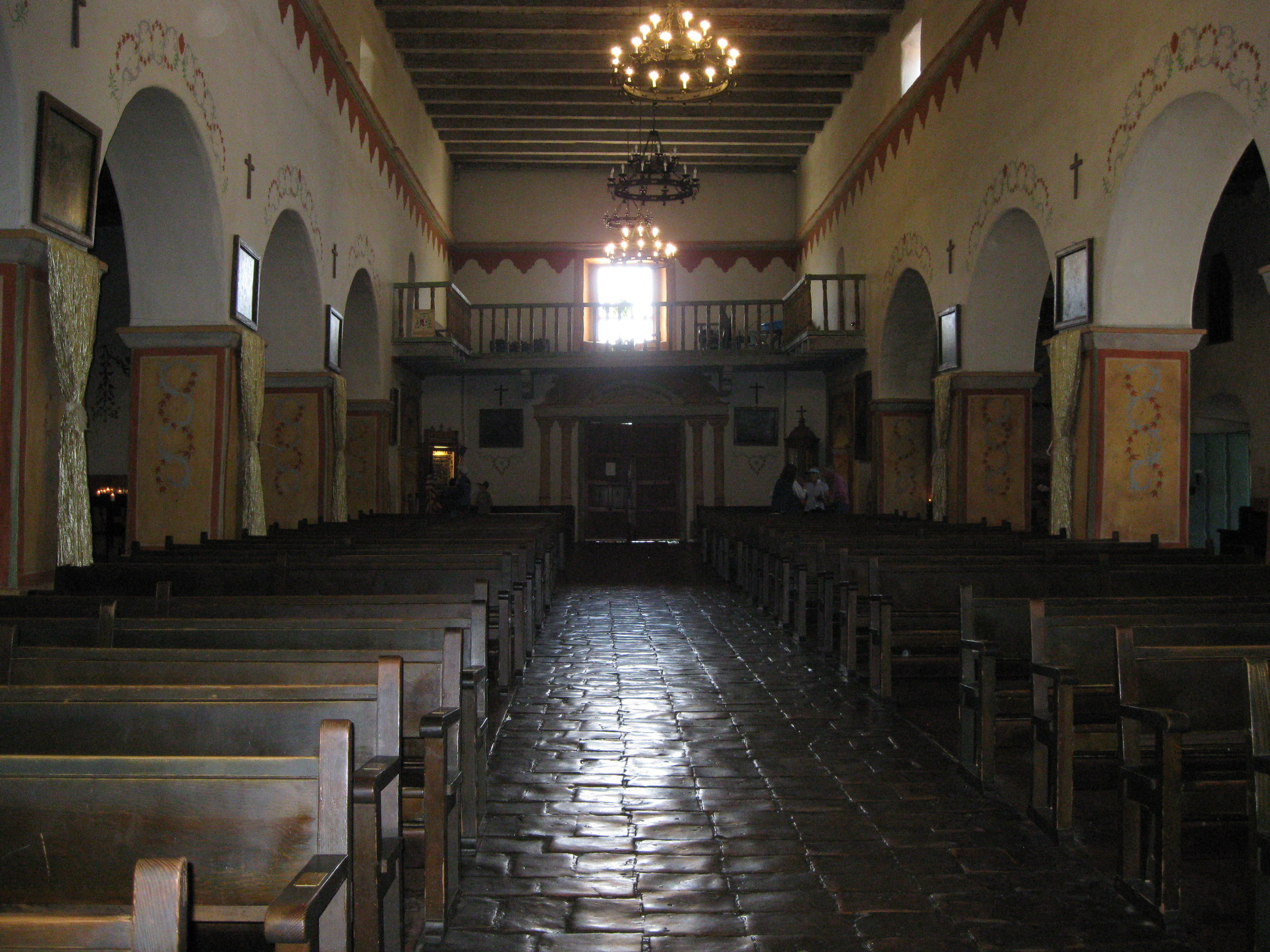 The Church at San Juan Bautista. Photo by Steve Newvine