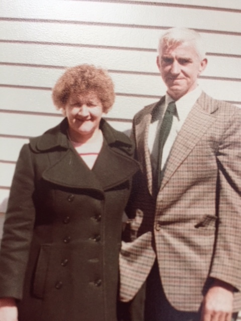 My Mom and Dad from a 1980 photo. Mom passed away in 2000..Photo: Newvine Personal Collection