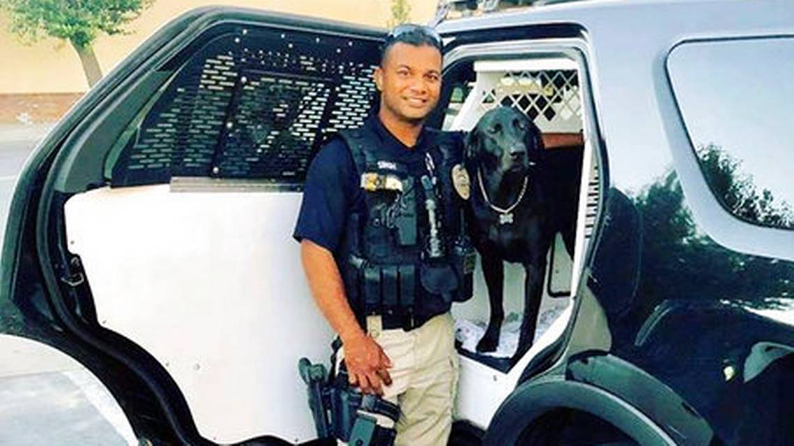 Police Corporal Ronil Singh. Photo- Newman Police Department