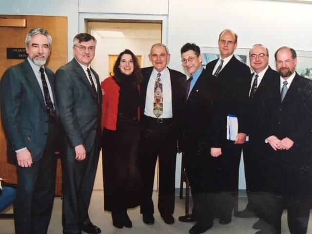 A 1998 photo with business owners on one of many local advocacy trips to the state capitol in Albany, NY. Photo: Newvine Personal Collection