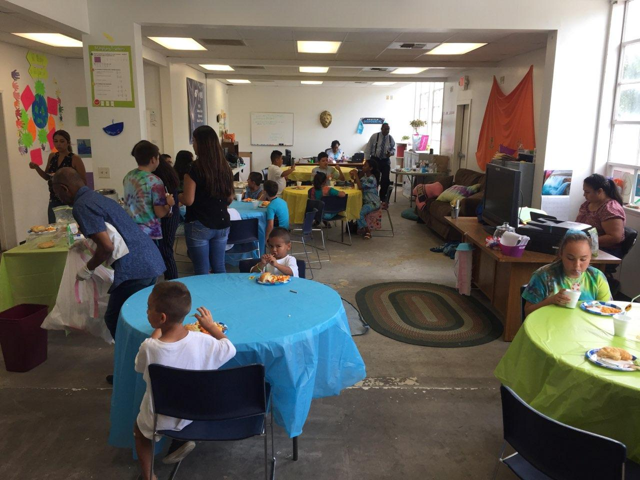 Children take part in the Summer Enrichment and Reading program organized by Harvest Park Educational Center in Merced. Photo: Steve Newvine