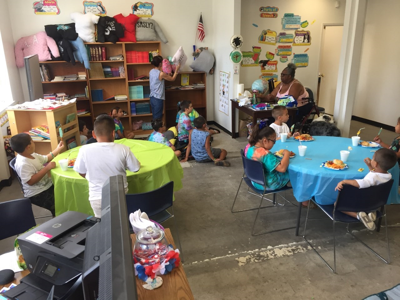 The Summer Enrichment and Reading Program ran for five weeks this summer with students spending their mornings in a classroom at UC Merced, and their afternoons at the Harvest Valley Learning Center on 25th Street in Merced. Photo- Steve Newvine