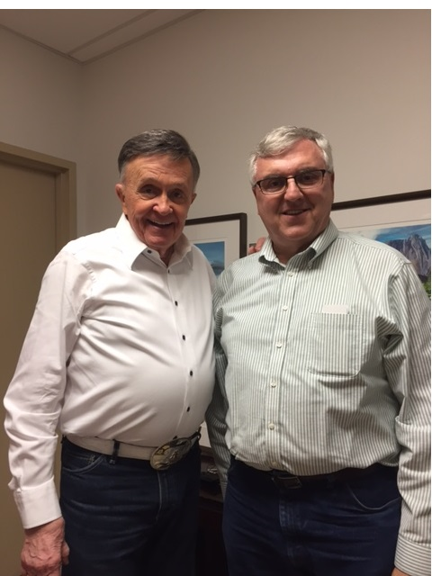 Country music singer and songwriter Bill Anderson shares his reflections in several episodes of the Ken Burns documentary Country Music. Steve Newvine met Anderson when the singer performed at Modesto's Gallo Center in 2017. Photo: Vaune Newvine